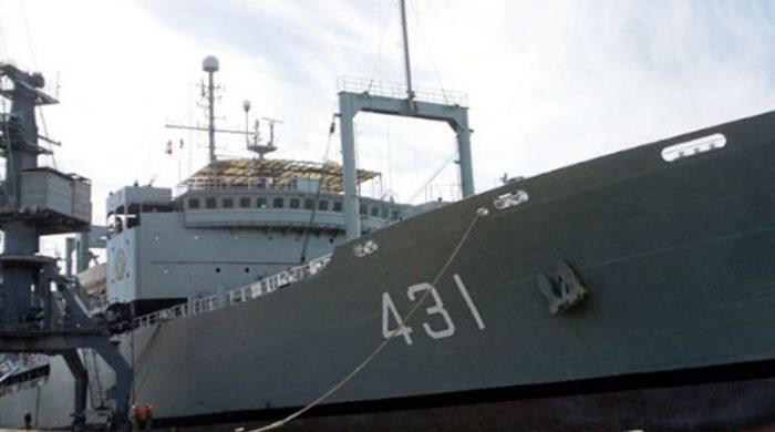 ডুবে গেলো ইরানি নৌবাহিনীর সবচেয়ে বড় জাহাজ